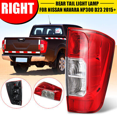 Rear Right Tail Light Red+Clear O/S For Nissan Navara NP300 D23 2015+ • 33.59£