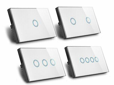 AU21.38 • Buy AU  Smart Home LED Wall Light TOUCH Switch 1/ 2 / 3 / 4 GANG