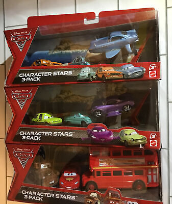 $ CDN89.30 • Buy DISNEY PIXAR CARS 2 CHARACTER STARS DOUBLE DECKER BUS, MATER, McQUEEN And 2 More