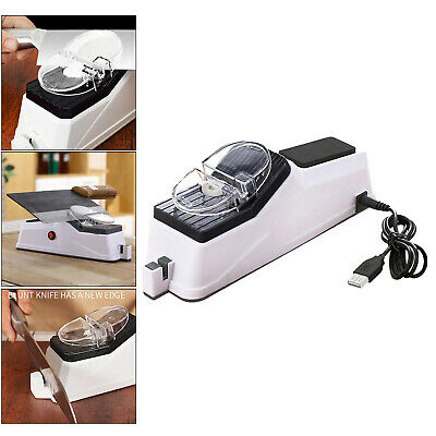 $ CDN16.80 • Buy Automatic USB Electric Knife Sharpener Stone Kitchen Sharpening Machine