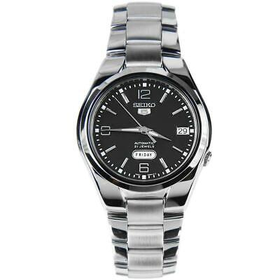 £95.25 • Buy Seiko 5 Automatic Snk623k1 Stainless Steel Black Dial Men's Watch - Brand New