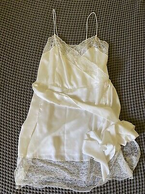 AU30 • Buy MANGO Lace White Camisole Dress XS