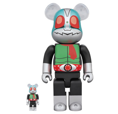 $269.99 • Buy Be@rbrick Kamen Rider Japan Limited 100%& 400%  Ship From Japan F/S Very Rare