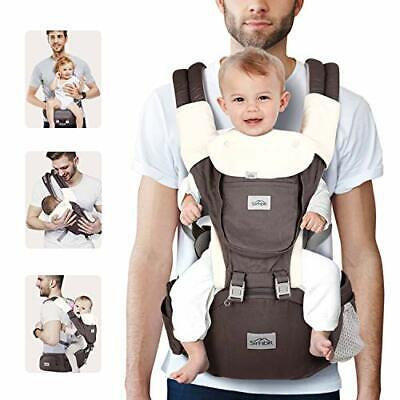 SIMBR Baby Carrier Newborn To Toddler (3-36 Months) With Hip Seat, Convertible • 51.64£