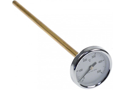 Pizza Oven Thermometer - BBQ Thermometer 0 To 500 Celsius - Dial Thermometer • 22.99£