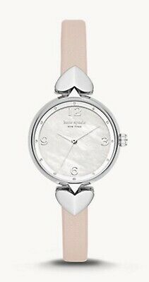 $ CDN103.99 • Buy Kate Spade New York Hollis Three-Hand Matte Nude Leather Ladies Watch KSW1550