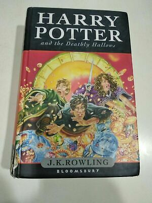 $ CDN6902.54 • Buy HARRY POTTER & DEATHLY HALLOWS Hardcover UK First Edition BOOK RARE
