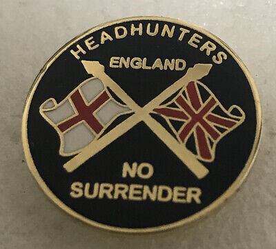 Very Rare Chelsea Supporter Enamel Badge - Head Hunter Hooligan Firm Union Jack • 4.99£