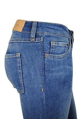 £12.97 • Buy Womens H&M Super Skinny Fit Denim Jeans Low Rise Stone Wash Blue Size 8 To 20