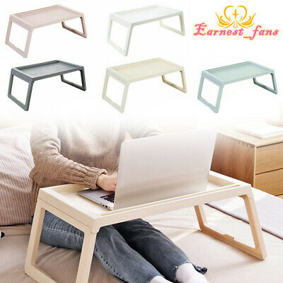 Laptop Lap Tray Portable Folding Desk Computer Table Sofa Notebook Breakfast Bed • 13.49£