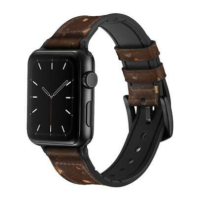 CA0503 Chocolate Ice Cream Bar Apple Watch Band Strap For IWatch Series • 38.99£
