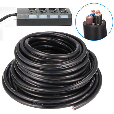 £40.78 • Buy 1.5mm 2.5mm 3 Core Electrical Wire Cable Outdoor Underground Heavy Duty Nh-RVV3