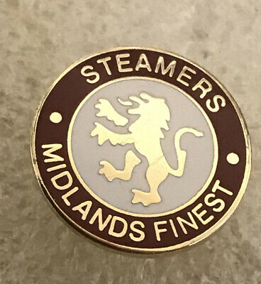 Rare Aston Villa Supporter Enamel Badge - Small  Real Steamers Hooligan Firm • 4.99£
