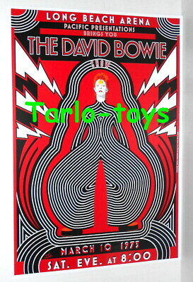$19.99 • Buy DAVID BOWIE - Long Beach , Us - 10 March 1973   - Concert Poster