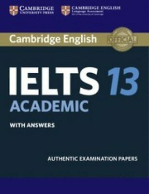 Cambridge IELTS 13 Academic With Answers (IELTS Practice Tests) • 18.40£