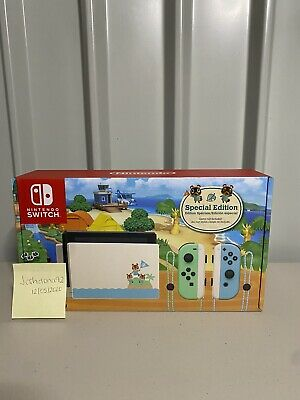 $ CDN444.70 • Buy Nintendo Switch Animal Crossing New Horizon Special Edition Console. Ships Today