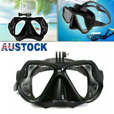 AU25.25 • Buy Camera Mount Diving Mask Scuba Snorkel Swimming Goggles Glasses For GoPro NEW