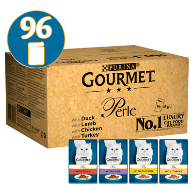 Gourmet Perle Chef's Country Collection In Gravy Cat Food - 96 X 85g • 42.51£