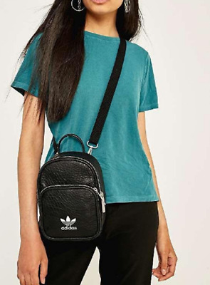 AU34.95 • Buy Adidas Women's Synthetic Leather Mini Backpack - Black -Clearance