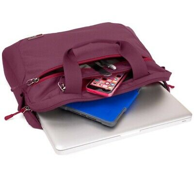 STM Swift Medium Shoulder Bag For 15-Inch Laptop And Tablet - Dark Red NEW • 8.98£