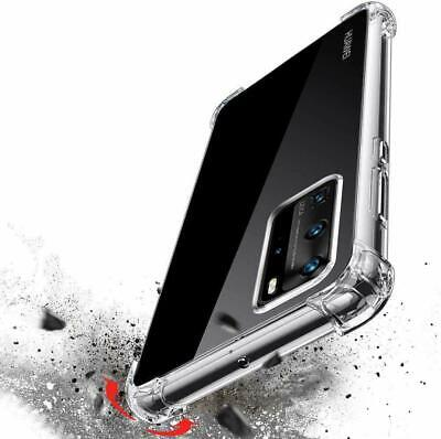 CLEAR Case For Huawei P20 P30 Pro Lite Mate Smart Cover Shockproof Silicone Gel • 2.79£
