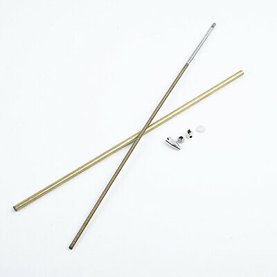 4mm CW/CCW  Flex Shaft Cable Drive Dog Prop Nut And Brass Tube For Rc Boat • 16.39£