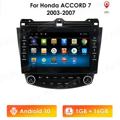 $177.59 • Buy For Honda Accord 2003-2007 9  Android 10.1 Stereo Car Radio GPS MP5 Player 4Core