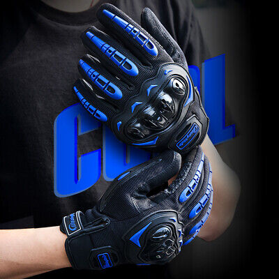 $12.98 • Buy Motorcycle Gloves Touch Screen Full Finger Hard Knuckle Tactical Military Gloves