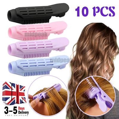 £4.69 • Buy 10PCS Fluffy Hair Root Clips Instant Volumizing Styling Roller Wave Fluffy Clip