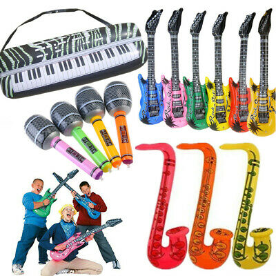 £13.79 • Buy 16pz Inflatable Musical Rock Band Musical Instruments For Kids Party Toys