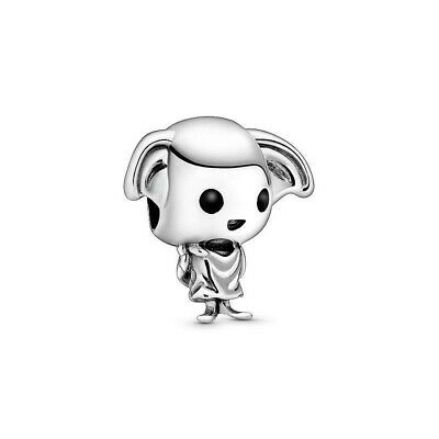 £5.99 • Buy 925 Sterling Silver Dobby The House Elf Harry Potter Charm + Pandora Brand Pouch