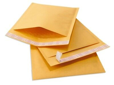 $16.65 • Buy 100 #0 6x10 Kraft Paper Bubble Padded Envelopes Mailers Shipping Case 6 X10
