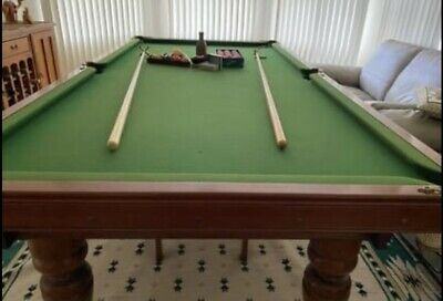 AU1200 • Buy Billiards / Pool Table & Accessories (4ft X 8ft) Balls Cues Stands Scorer SYD