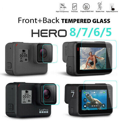 $ CDN2.11 • Buy For Gopro Hero 8 7 6 5 Camera Accessories Lens&Screen Protector Protective Film^