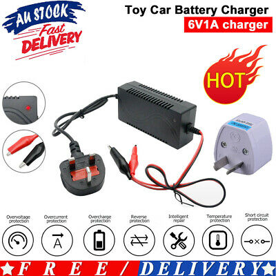 AU19.39 • Buy 6 Volt Sealed Lead Acid Battery Charger Motorbike Electric Toy Car Smart Charger