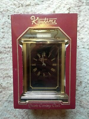Kaytime Quartz Carriage Clock (Made In West Germany With A Swiss Movement) • 18£