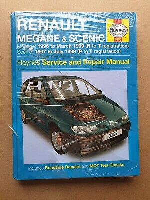 Haynes - Renault Megane And Scenic Petrol And Diesel Service And Repair Manual. • 7.99£