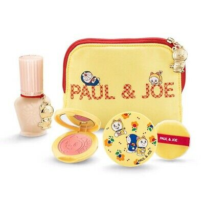 $188.64 • Buy Paul & Joe × Doraemon Make Up Collection 2020 Dorami Pouch Foundation Primer NEW