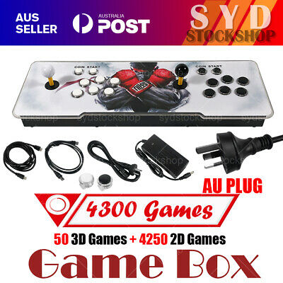 AU148.99 • Buy Pandora's Box 11S 3399 Games In 1 Arcade Console 2D & 3D Retro Video Game NEW