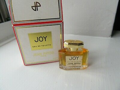 VINTAGE JEAN PATOU -   JOY  Perfume  3.5ml EDT Miniature -  New & Boxed • 20£
