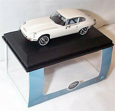 Jaguar E Type V12 Coupe Old English White 1-43 New In Case 43JAGV12006 • 24.75£