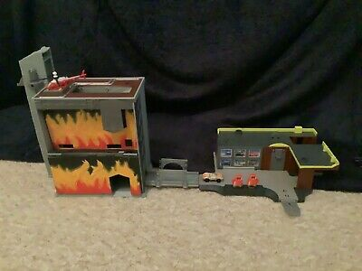 £21.99 • Buy Micro Machines Raging Inferno Building And Garage With Original Car & Copter