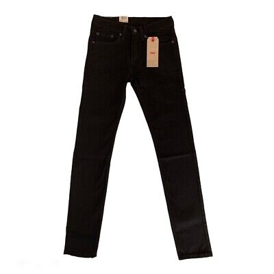 Brand New Levis 519 Extreme Super Skinny Hi-Ball Men Black Jeans Denim Pants  • 42.95£