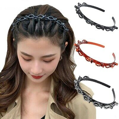 $ CDN7.24 • Buy Men Women Sport Hair Band With Hairstyle Hairpin Fashion Casual Hair Accessories