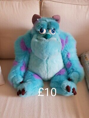 Disney Store Monsters Inc Sully Plush Large Soft Toy Teddy Sulley  • 10£