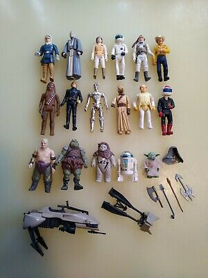 $ CDN89.85 • Buy Vintage Original Star Wars Figures From Early 1980s & Miscellaneous LOT