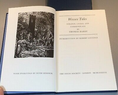 £12.95 • Buy The Wessex Tales By Thomas Hardy Folio Society 1987 Edition In Slipcase