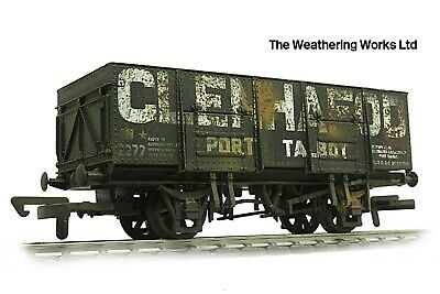 Dapol 21t PO Mineral / Coal Hopper Wagon + Optional Load WEATHERED LOOK • 19.99£