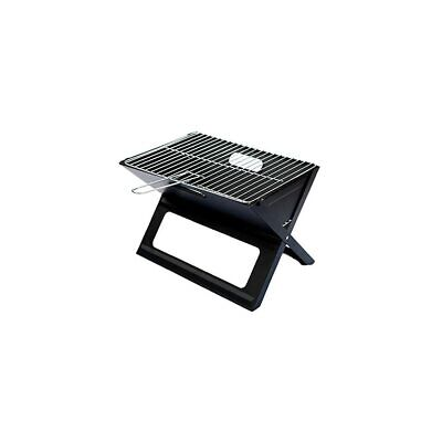 Chrome-Plated Steel Grids Grill Picnic Bbq Chrome Plated Heat-Resistant Portable • 41.99£