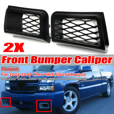 $37.99 • Buy SS Style Front Bumper Caliper Air Duct Cover For Chevrolet Silverado 1500 03-07